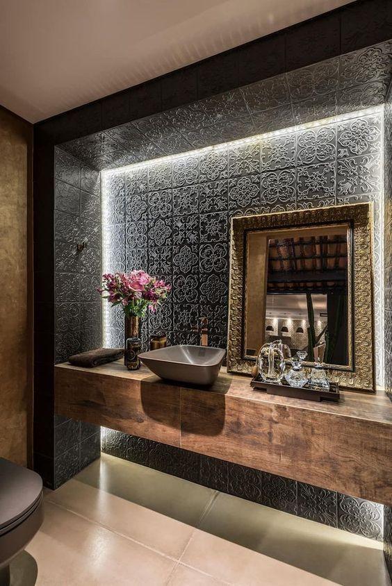 Photo of Trendige Materialien für Luxus-Badezimmer-Dekor-Ideen, die Sie kennen müssen. …,  #chambre …
