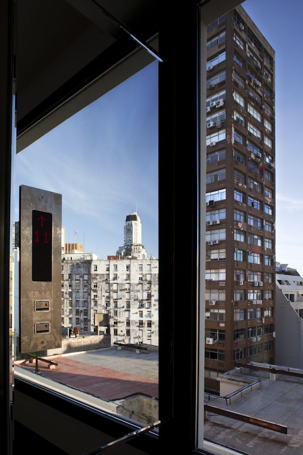 Hotel Pulitzer Buenos Aires views