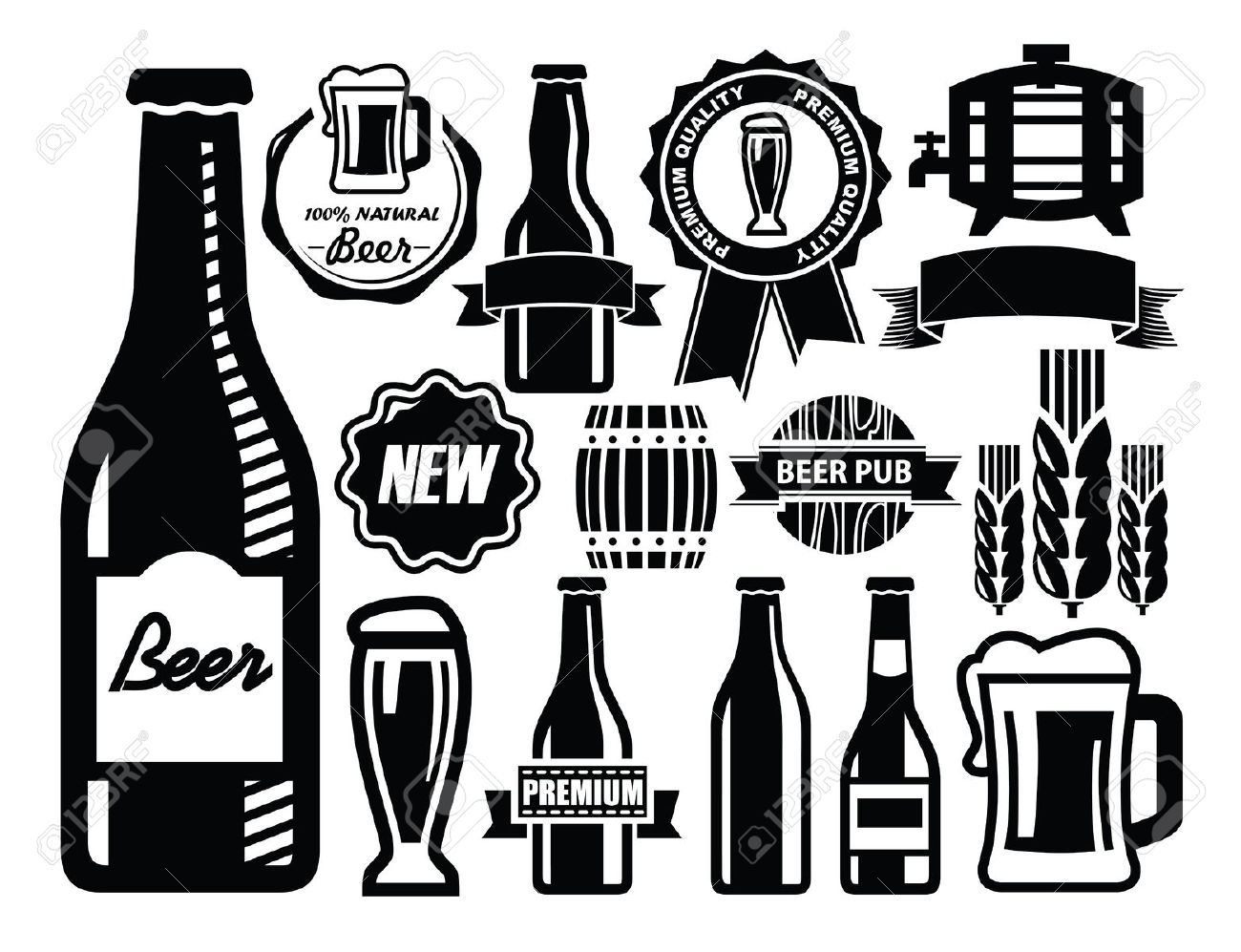 Cheers Beer Stock Vector Illustration And Royalty Free