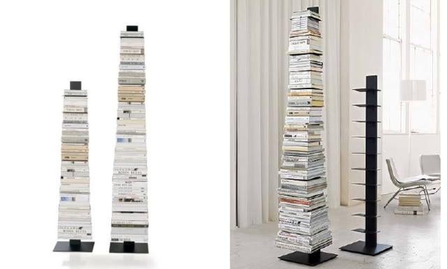 Design lover rainaldi s ptolomeo wall bookcase