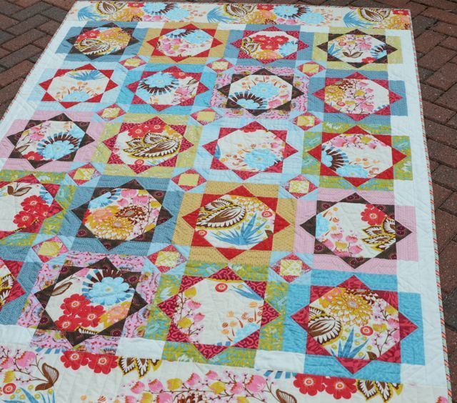 """""""Strawberry Fields"""" (from Hyacinth Quilt Designs)"""