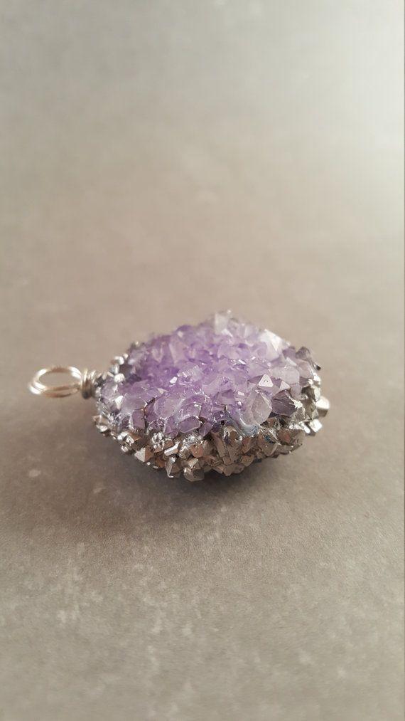 Hey, I found this really awesome Etsy listing at https://www.etsy.com/listing/481527708/medium-purple-silver-leaf-crystal