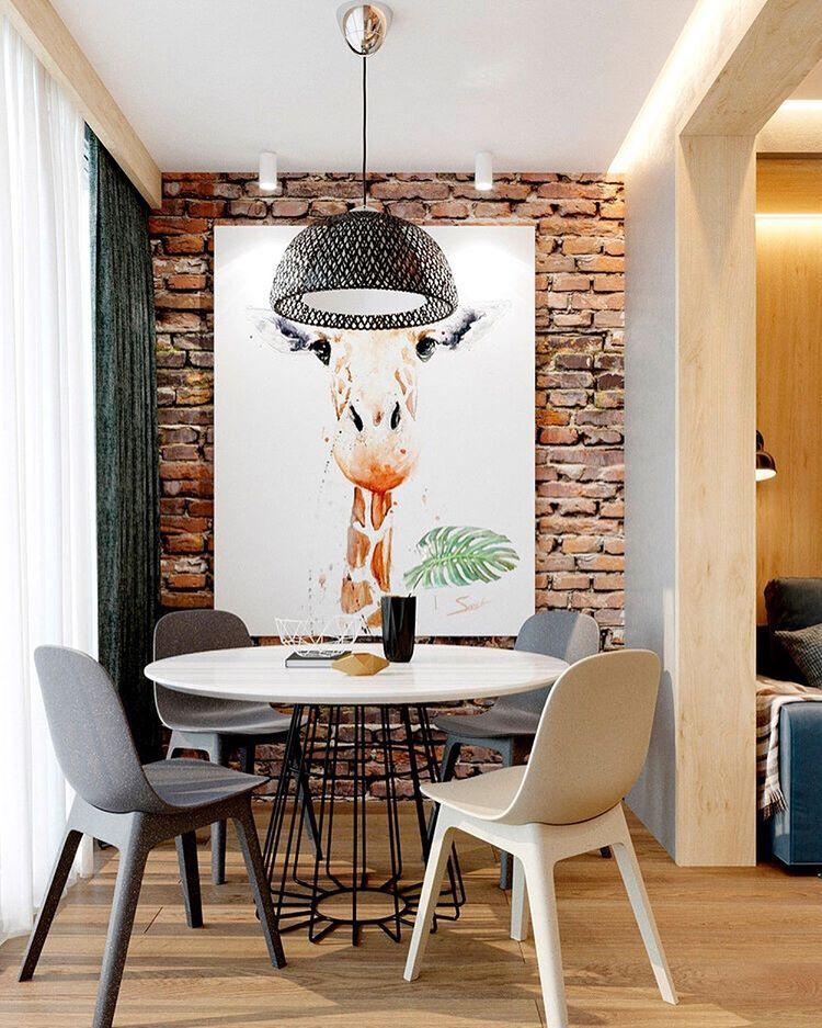 Идеи для квартир,домов и дач в Instagram: «•КВАРТИРА 49 КВ ...