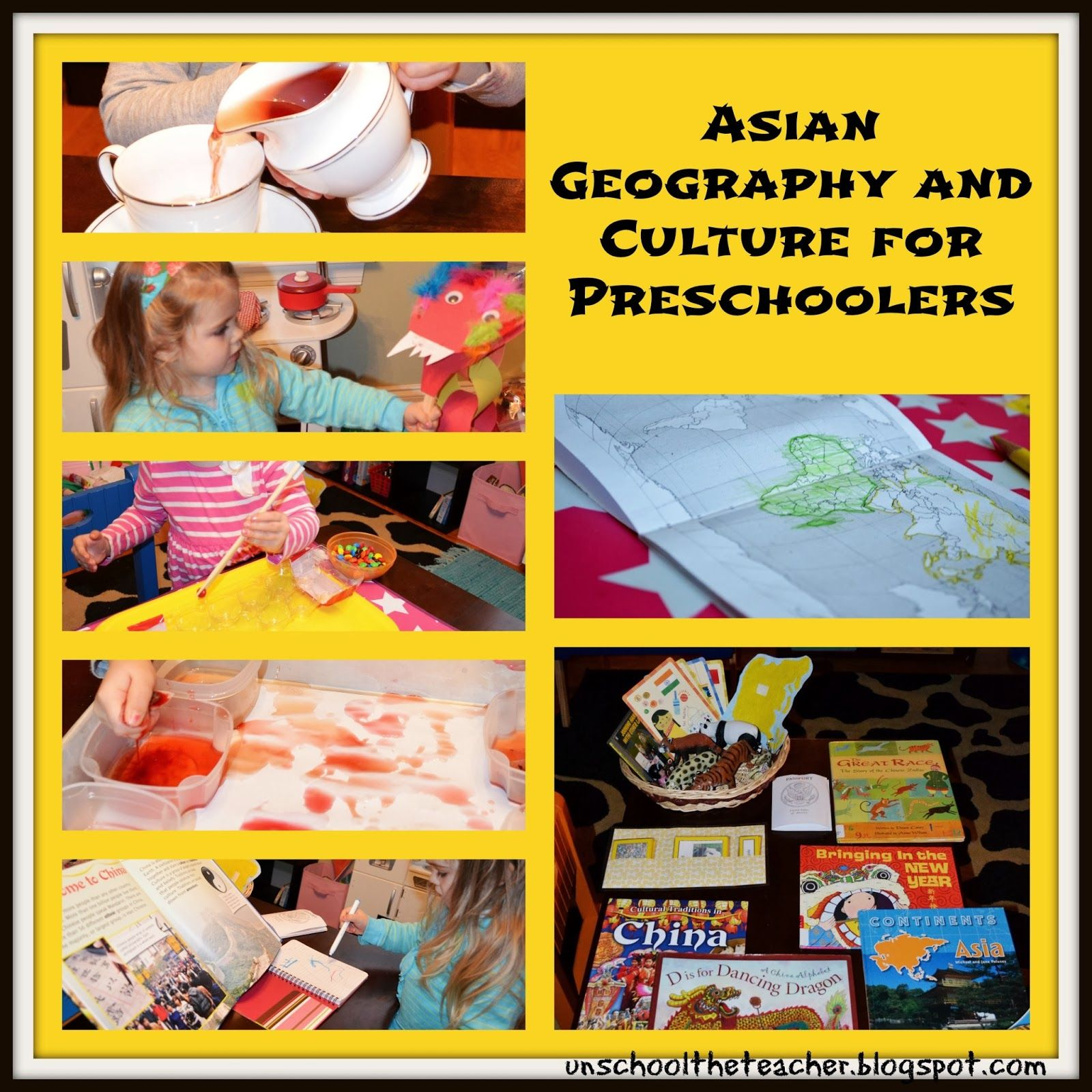 Unschool The Teacher Asian Geography And Culture