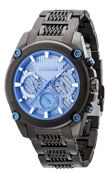 7d87728fa289 Police Mesh Up Gents Watch