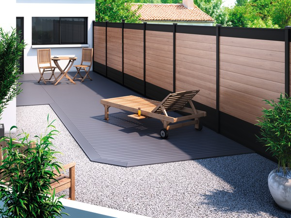 Lame De Cloture En Pin Neva L 1 80 M X L 14 5 Cm X Ep 2 1 Cm Brico Depot Avec Images Decoration Jardin Exterieur