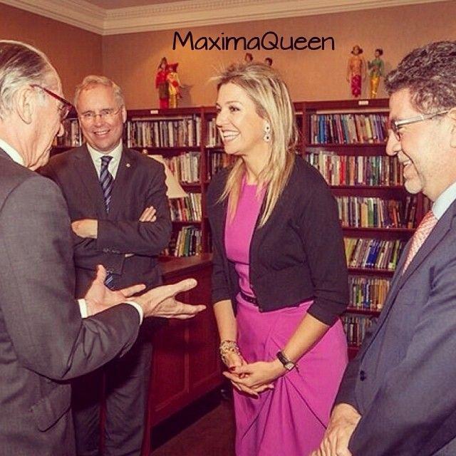 04-02-2014  Queen Maxima in New York