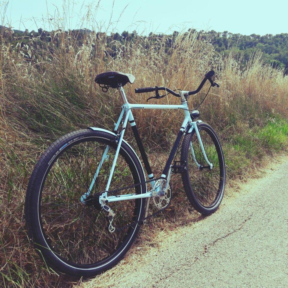 Bernard Dangre bicycle after retauration and customisation, 650b ...