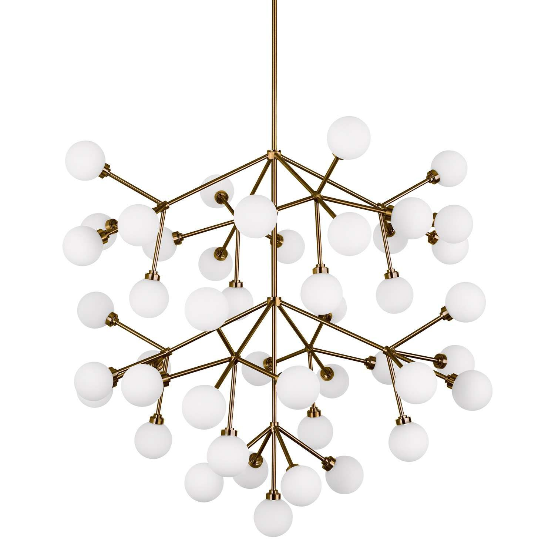 2605 Mara Grande Led Chandelier 32 6 L X 32 6 W X 51 H Led Chandelier Tech Lighting Ceiling Light Design