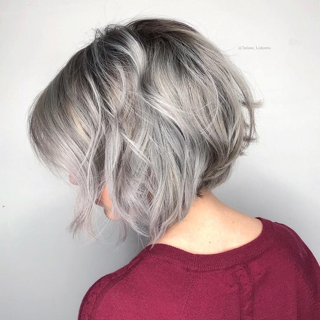 Grey Aveda Hair Color Toes The Line Between Edgy And Fanciful We