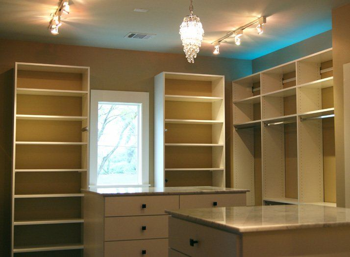 Master Closets | SpaceMan Home U0026 Office | Houston, ...