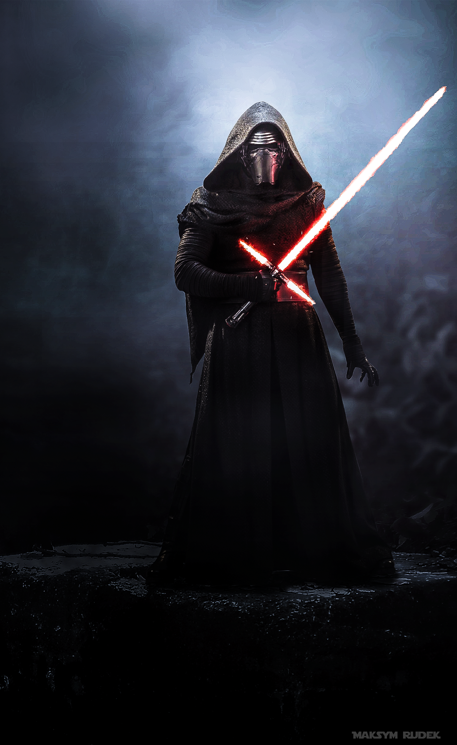 Kylo Ren Smartphone Wallpaper (With images) Tapety