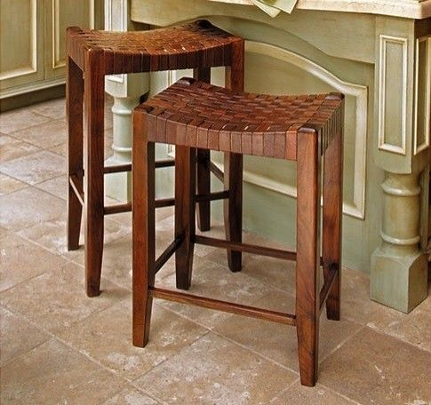 Super Woven Leather Stools Decorating Ideas Leather Counter Uwap Interior Chair Design Uwaporg