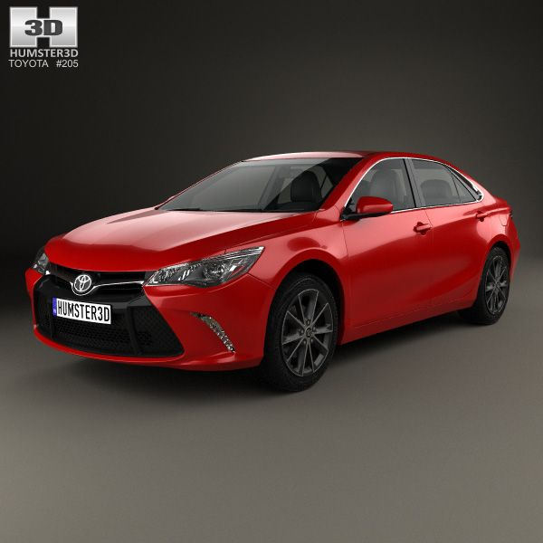 Bmw 6 Series F13 Coupe M Sport Package 2015 3d Model: 3D Model Of Toyota Camry XSE 2015