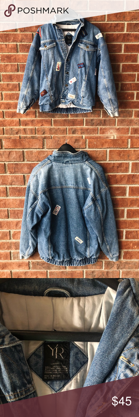yr vintage jean jacket