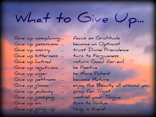 Image result for what to give up for lent images