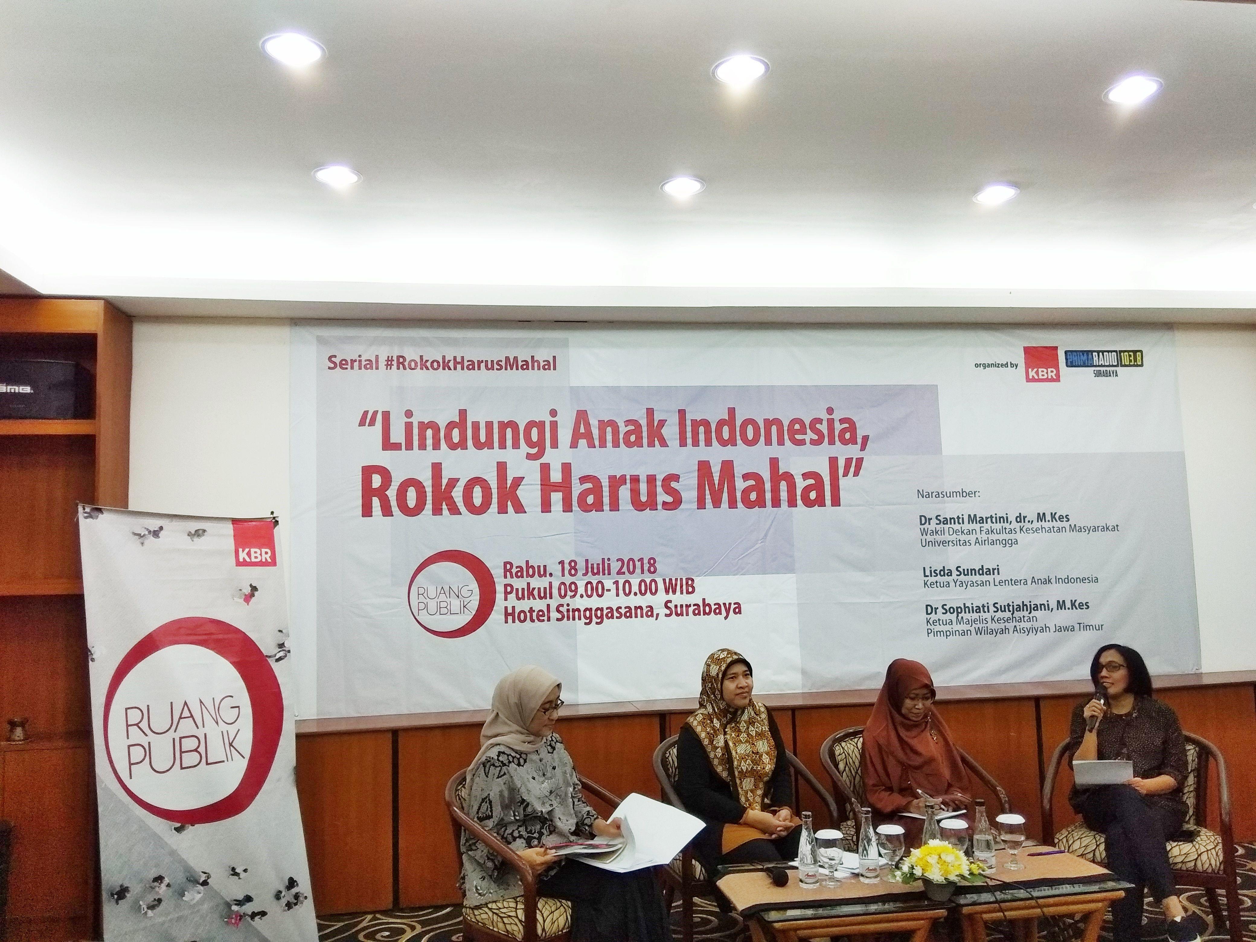 #RokokHarusMahal : Lindungi Anak Indonesia