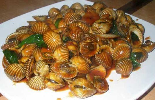 Pengen Tinggi Makan Kerang Darah Makanan Resep Kerang Resep Seafood