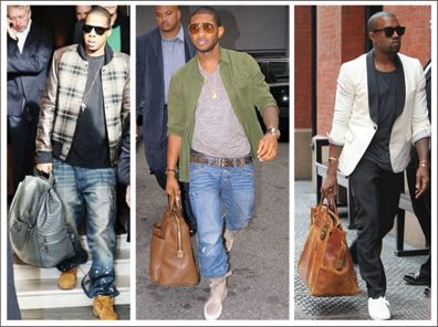Jay-Z, Usher, Kanye West Lead the 'Man Purse' Revolution | Bags ...