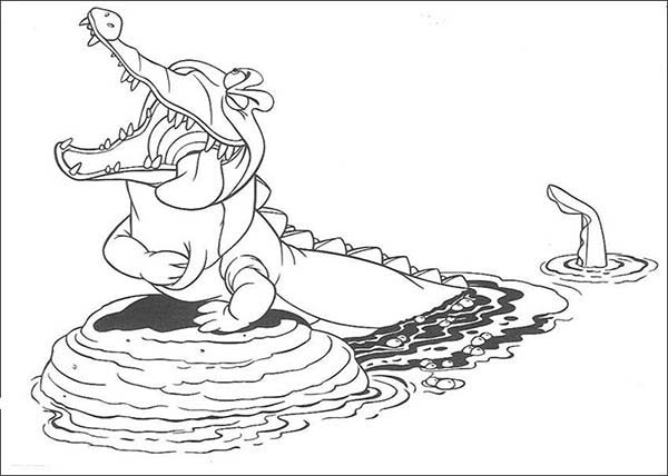 Fun Alligator Coloring Pages