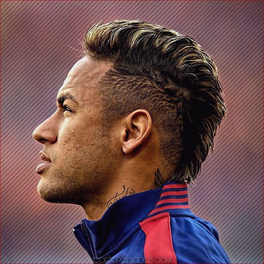 Corte de pelo de neymar de 2020
