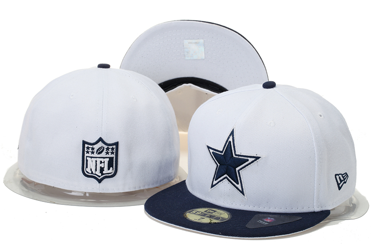 99a5e6a238f9e Cheap Wholesale Dallas Cowboys New Era NFL 2 Tone White Team 59FIFTY Cap 1  for slae at