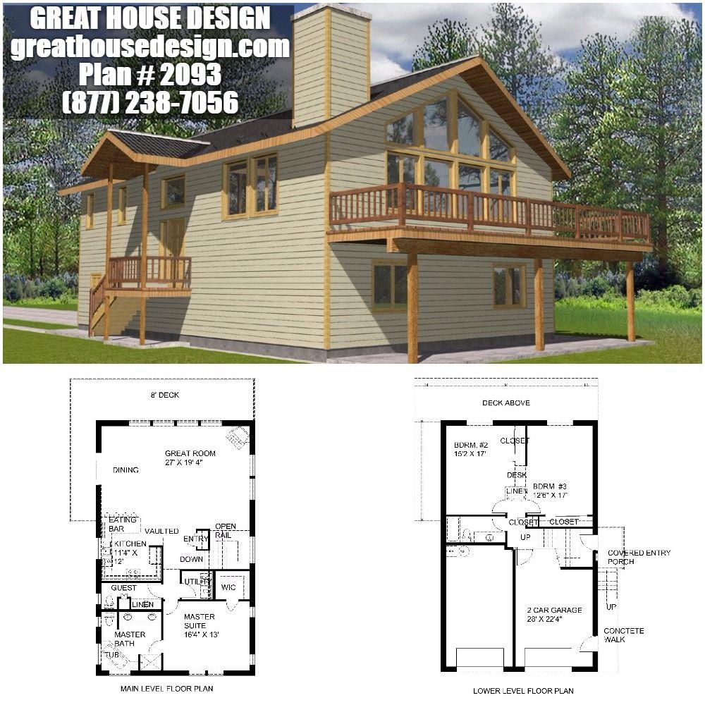 ICF Garage Apartment Plan # 2093 Toll Free: (877) 238-7056