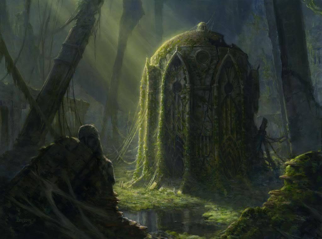 My Top 60 Fantasy Artists Part 1 Of 4 Overgrown Tomb Fantasy Concept Art Fantasy Artist