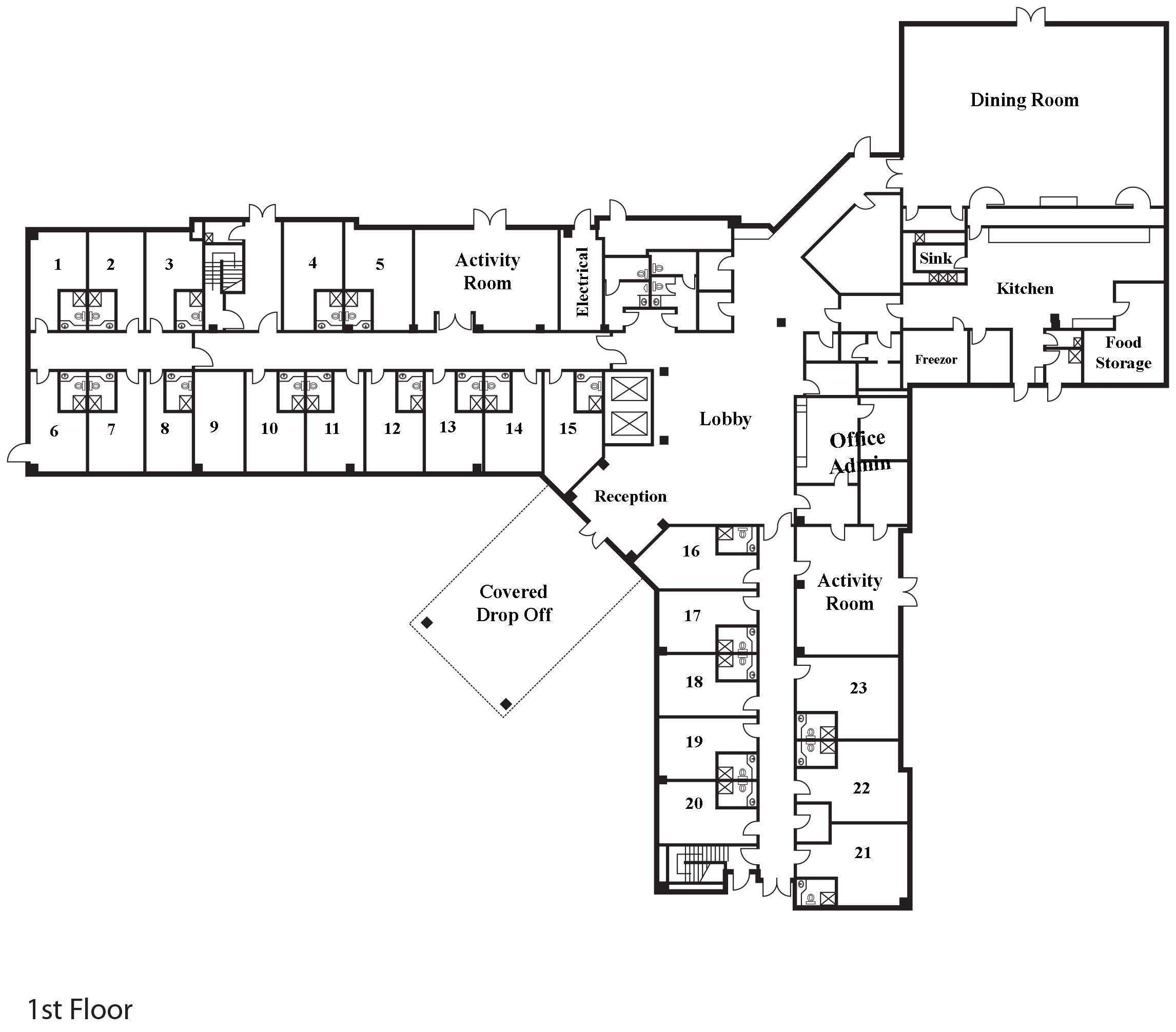Floor Plan Samples Hospice