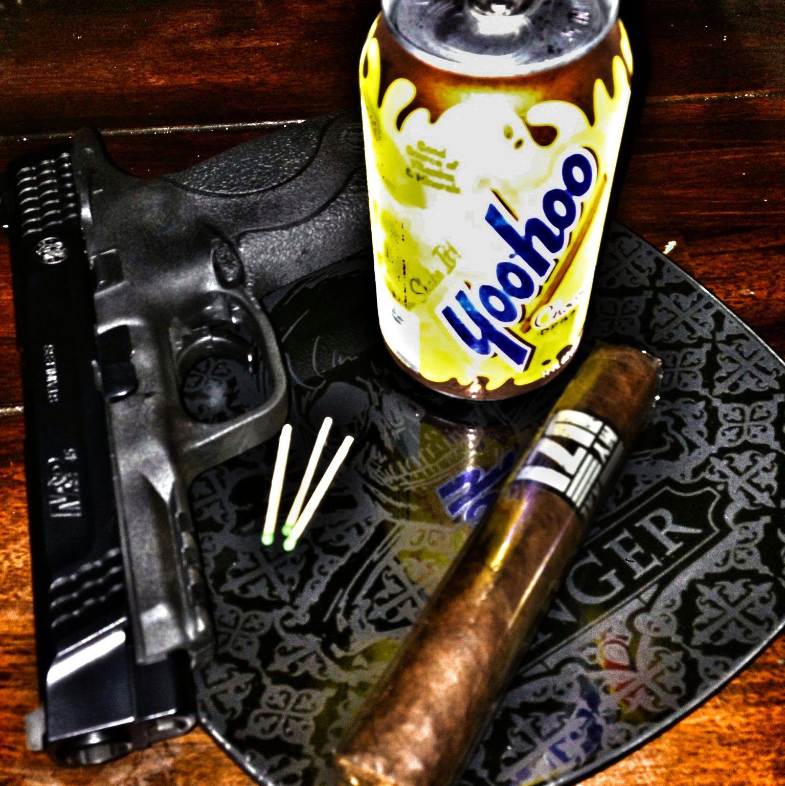 <~~ cigar guns