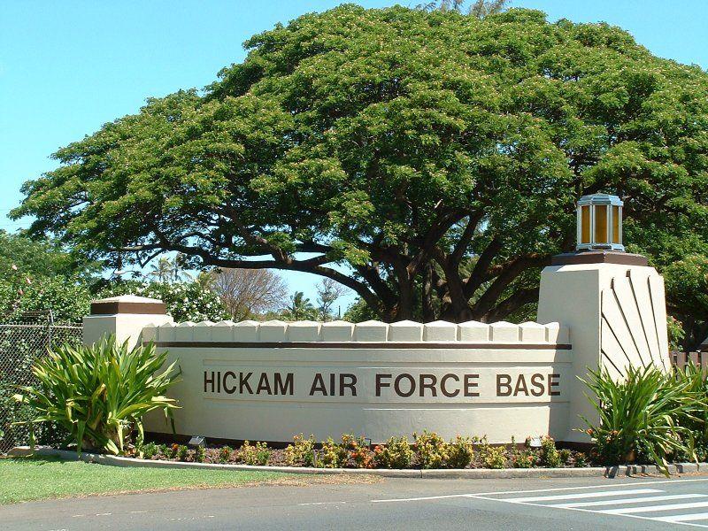 Hickam AFB Honolulu, Hawaii 19931996 Home is where the