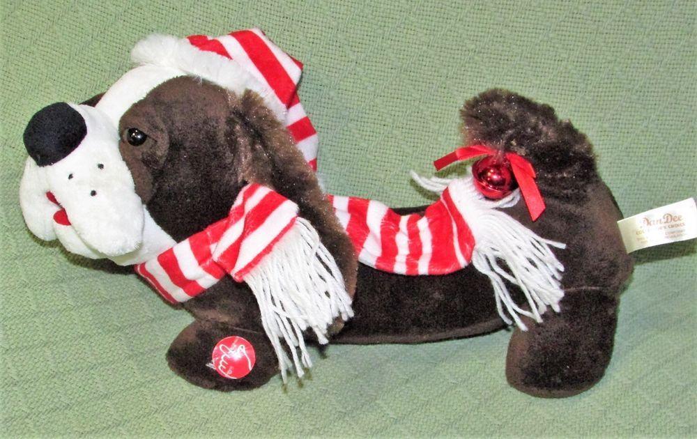 Dan Dee Animated Christmas Hound Dog