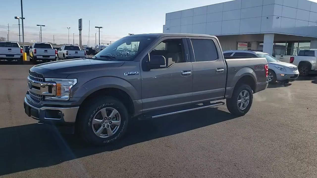 Used 2018 Ford F 150 Xlt 4wd Supercrew 5 5 Box At Central Buick Gmc Used Gf50197g In 2020 Buick Gmc Ford F150 Buick