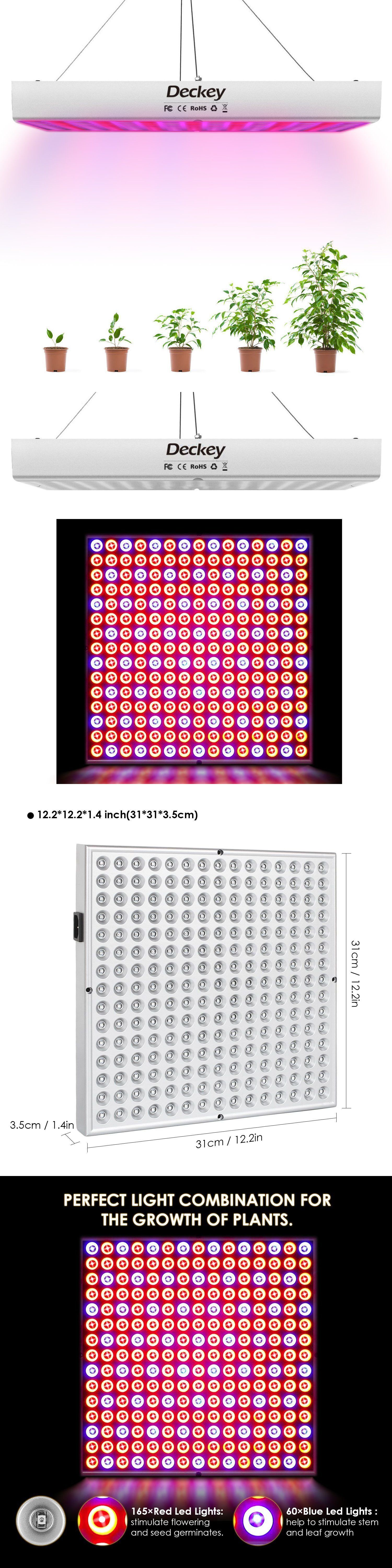 Details About Led Grow Light 225led Uv Ir Growing Lamp For Indoor Plants Hydroponic Plant Hydroponic Plants Grow Lights Led Grow Lights