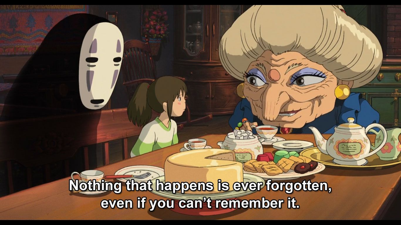 Spirited Away Quotes Spirited Away  Cinema  Pinterest  Cinema And Movie