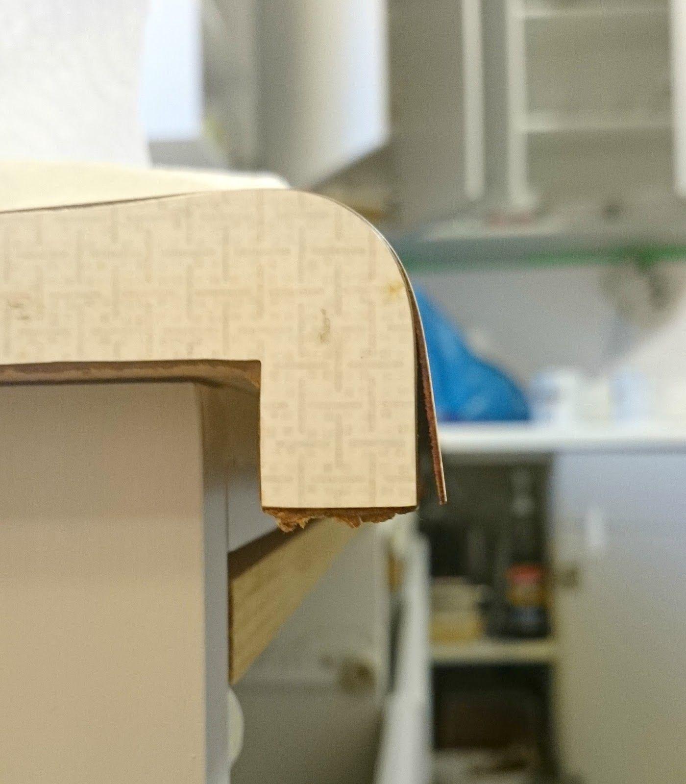 How To Repair And Refinish Laminate Counters Dans Le Lakehouse Laminate Counter Countertop Repair Refinish Countertops