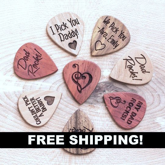 I PICK U heart Solid Brass Guitar Pick,Acoustic,Electric,Bass
