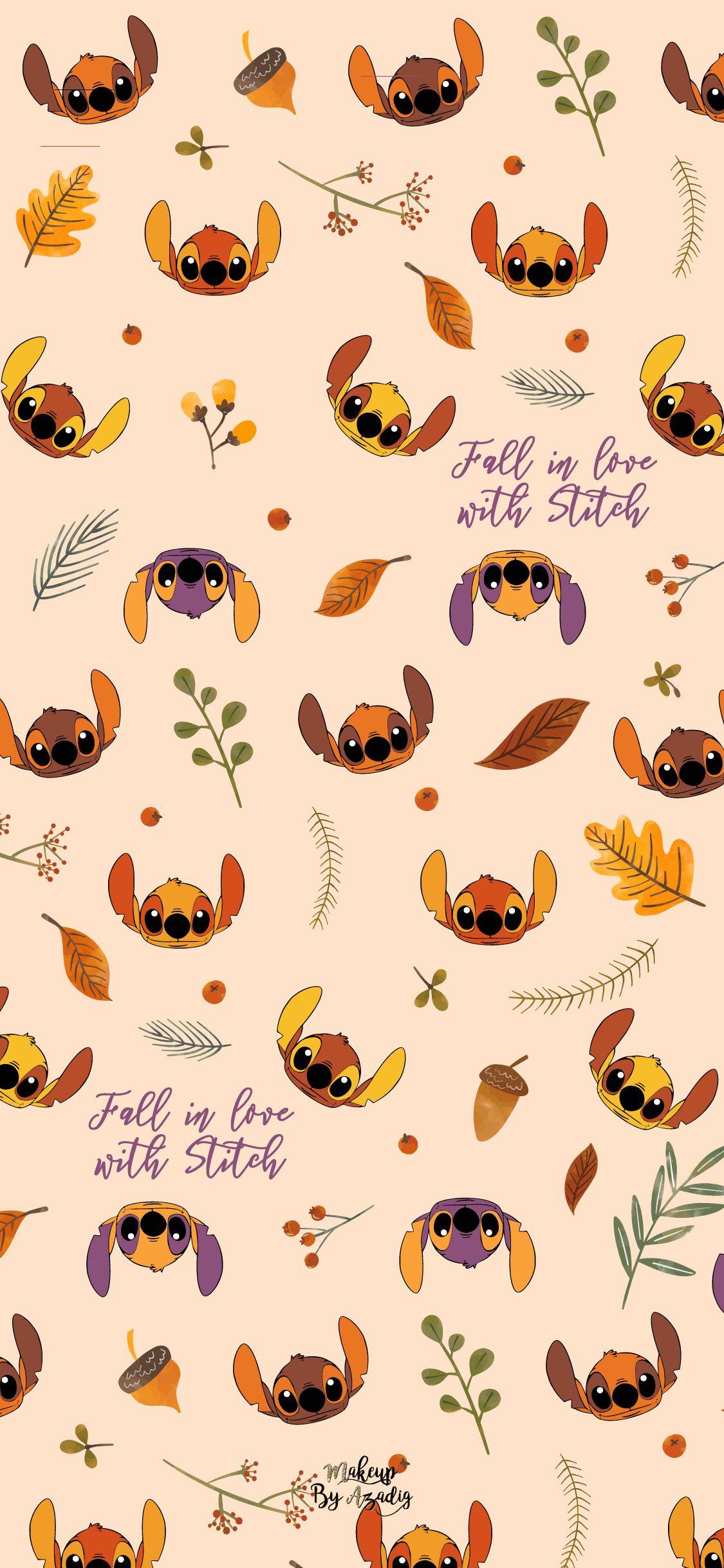8 Fond D Ecran Disney Stitch Fall Fallwallpapers In 2020 Wallpaper Iphone Disney Iphone Wallpaper Fall Wallpaper Iphone Cute