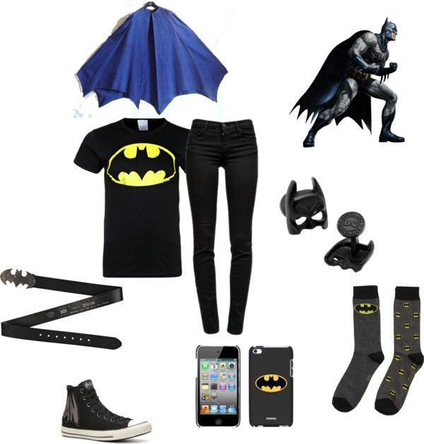 """""""Because i am Batman"""" by trustmeimaninja on Polyvore"""