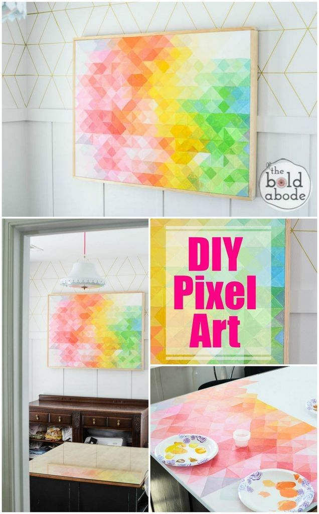 Ways To Make Abstract Art Projects Diy Art Craft And Diy Artwork - Abstract art canvas painting ideas
