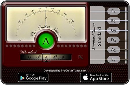 Online Guitar Tuner Proguitar Guitar Tuners Guitar Tuner App Guitar