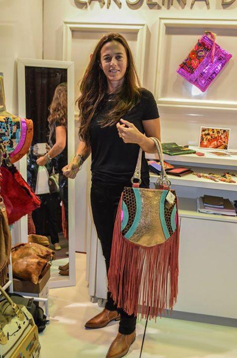 Bolsa Lisette #carolinadecuntomexico #arteparalucir #arte #loveart #diseño #fashion #fashionista #chic