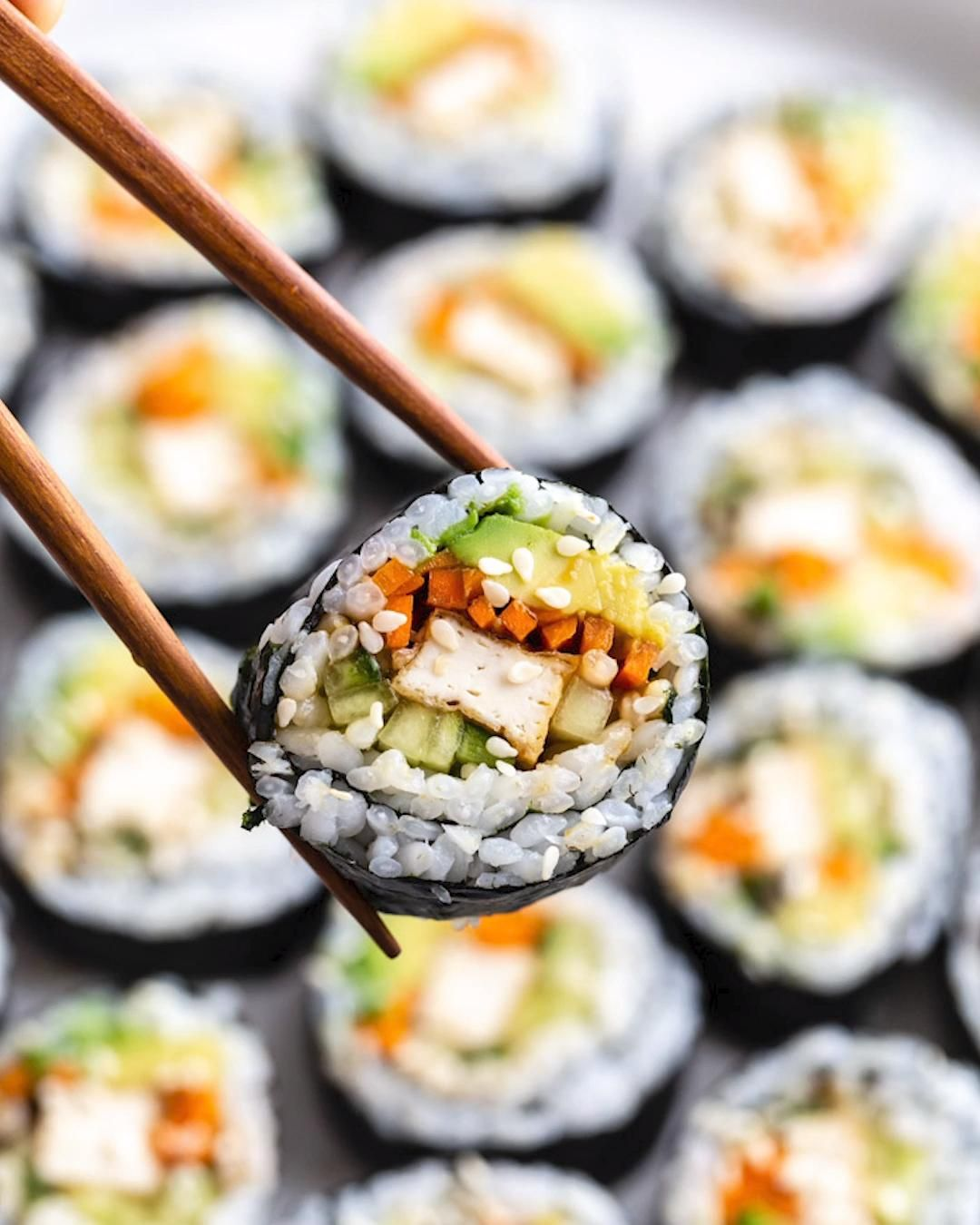 Easy Vegan Sushi