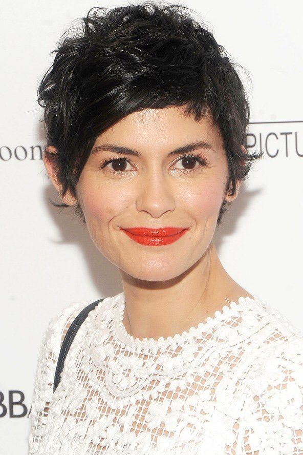 Audrey Tautou Short Hair Removes Obvious Femininity And Replaces