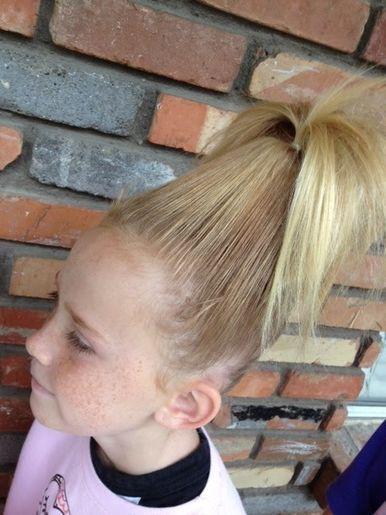 16 Wild Ideas for Wacky Hair Day | CafeMom #crazyhairdayatschoolforgirlseasy