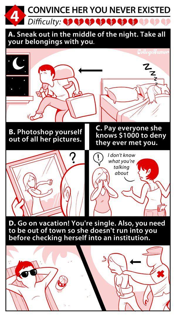 How to break up your girlfriend