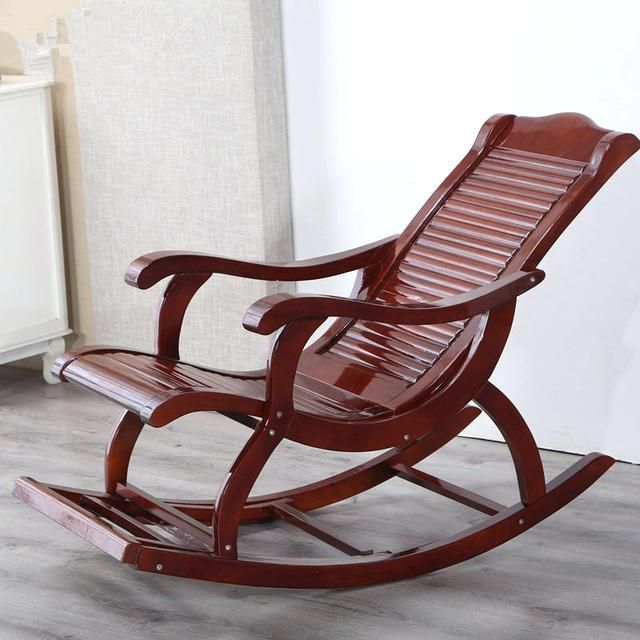 Hardwood Indoor Modern Adult Rocking Chair Rocker Living Room Within Outdoor Rocking Chair Idea Outdo In 2020 Modern Rocking Chair Balcony Chairs Wooden Rocking Chairs