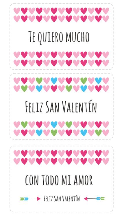 Tarjetas De San Valentin Para Imprimir Regalitos Pinterest San