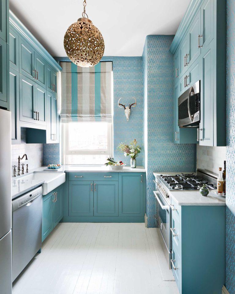 54 Clever Small Kitchen Ideas That Maximize Space In A Snap Small Cottage Kitchen Cottage Kitchen Design Kitchen Design Plans