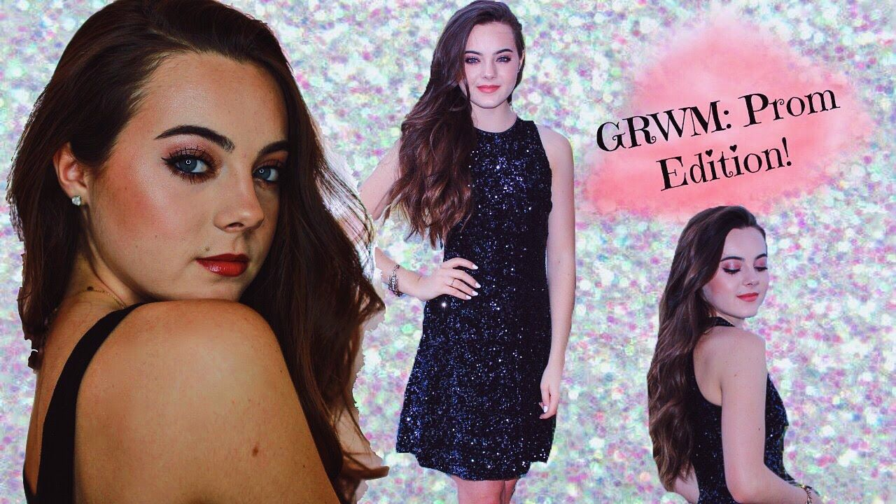 Get prom ready with me hair makeup dress - Get Ready With Me Prom Dress Makeup Ava Allan